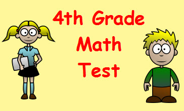 Comparing Fractions Math Test