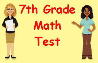 Adding Integers Math Test