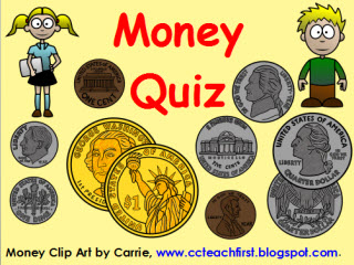 Counting Coins Money Quiz